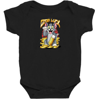 Maneki Neko Tom Baby Bodysuit Designed By R1m4
