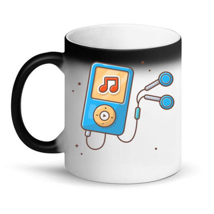 Audio Music Player With Earphone Magic Mug Designed By Lenart