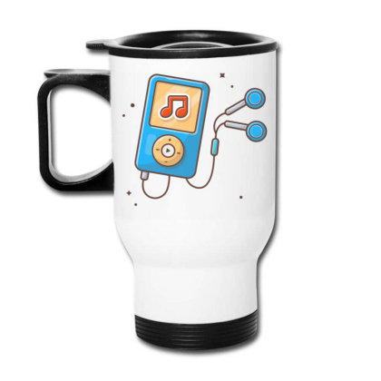 Audio Music Player With Earphone Travel Mug Designed By Lenart