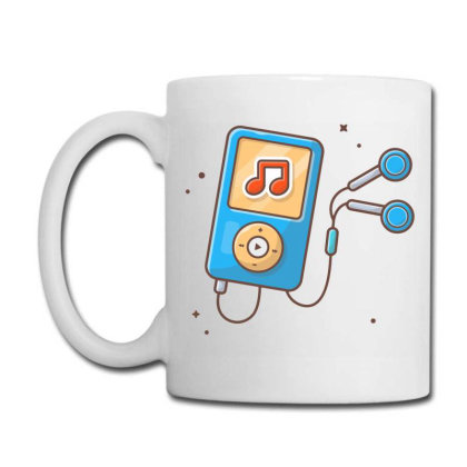 Audio Music Player With Earphone Coffee Mug Designed By Lenart