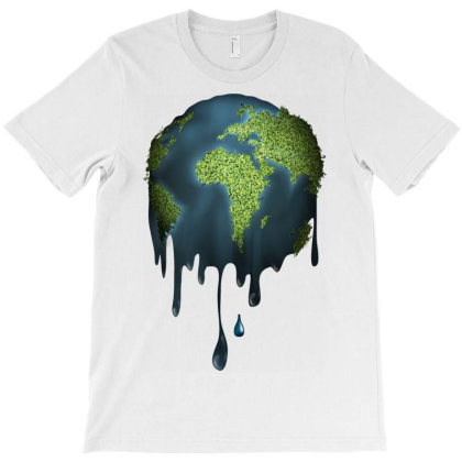 Earth Melting Computer File Vector Melted Earth T-shirt Designed By Salmanaz