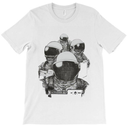 Astronaut Outer Space Drawing Space Suit Sketch T-shirt Designed By Salmanaz