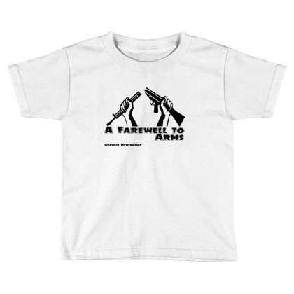 Farewell Toddler T-shirt Designed By Uniquetouch