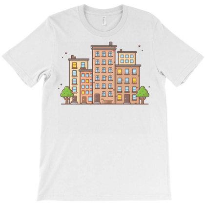 Cityscape 1 T-shirt Designed By Lenart