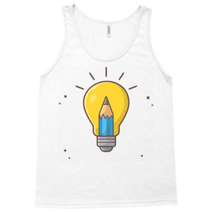 Creative Idea Tank Top Designed By Lenart