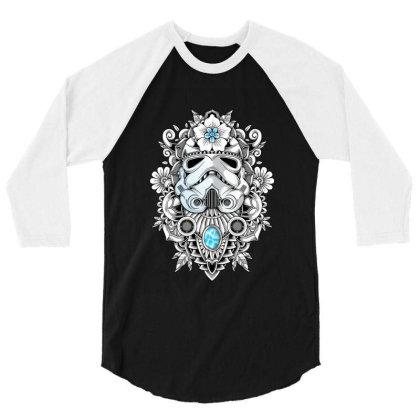 Elite Soldier 3/4 Sleeve Shirt Designed By Godzillarge