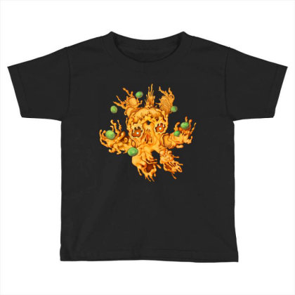 M Is For Macreepy Mac And Cheese Toddler T-shirt Designed By Kikoeart