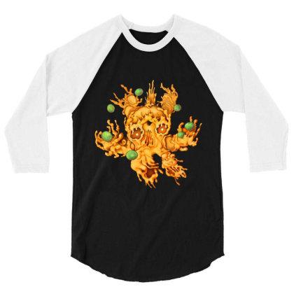 M Is For Macreepy Mac And Cheese 3/4 Sleeve Shirt Designed By Kikoeart