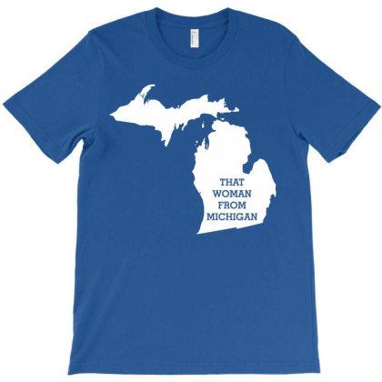 Michigan Gretchen T-shirt Designed By Shirt1na