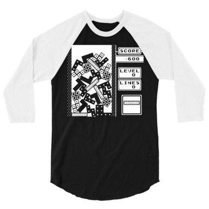 Disaster 3/4 Sleeve Shirt Designed By G3ry