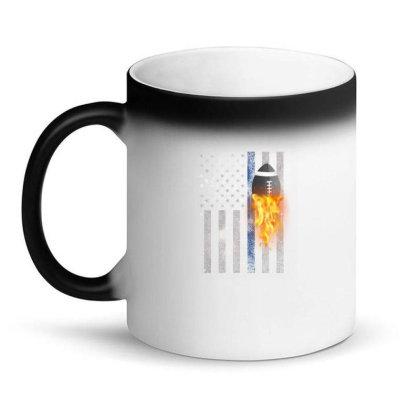 American Football Flag Magic Mug Designed By Gurkan