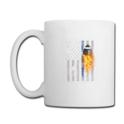 American Football Flag Coffee Mug Designed By Gurkan
