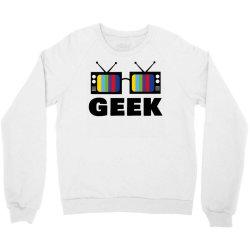 geek television Crewneck Sweatshirt   Artistshot