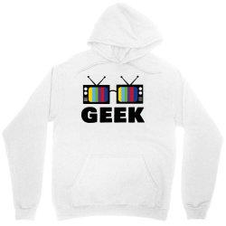 geek television Unisex Hoodie   Artistshot