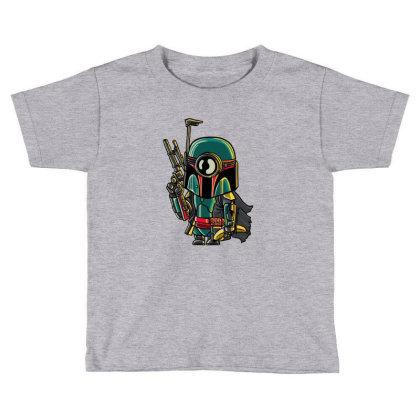 Minion Boba Fett Toddler T-shirt Designed By Douglasstencil