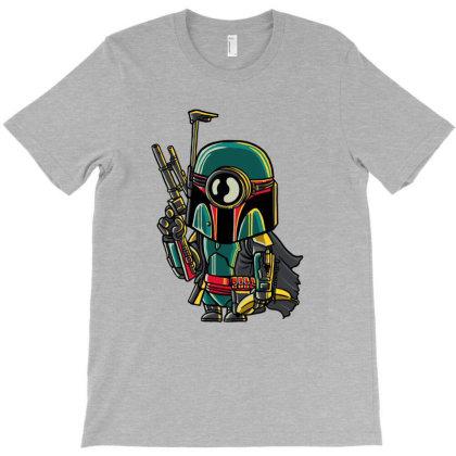Minion Boba Fett T-shirt Designed By Douglasstencil