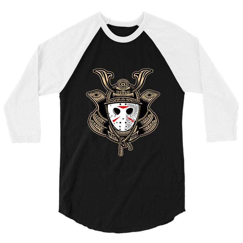 Samurai Jason 3/4 Sleeve Shirt | Artistshot