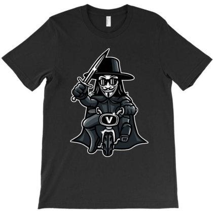 Vendetta Biker T-shirt Designed By Douglasstencil