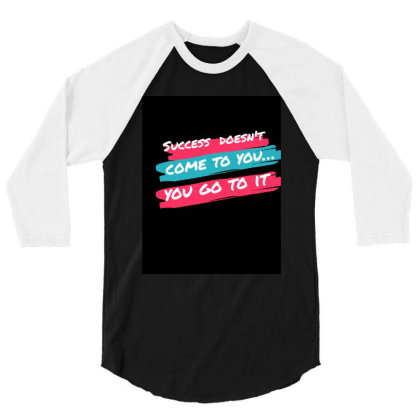 Quotes , Phrases 3/4 Sleeve Shirt Designed By Shumkar