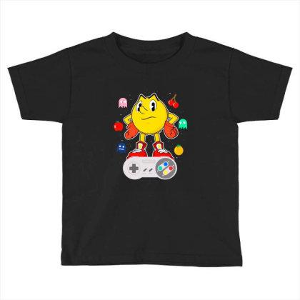 Console Pac Toddler T-shirt Designed By Douglasstencil