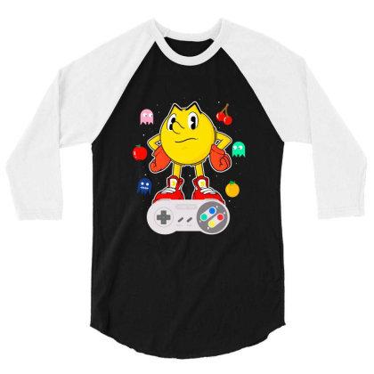 Console Pac 3/4 Sleeve Shirt Designed By Douglasstencil