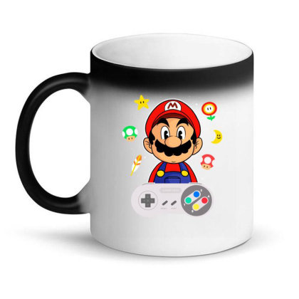 Console Mario Magic Mug Designed By Douglasstencil