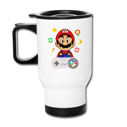 Console Mario Travel Mug Designed By Douglasstencil