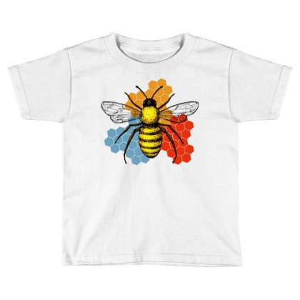 Honeycomb Toddler T-shirt Designed By Gurkan