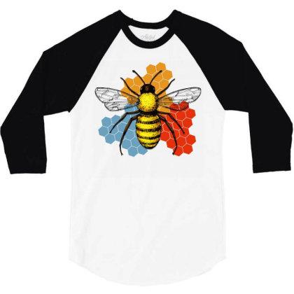 Honeycomb 3/4 Sleeve Shirt Designed By Gurkan