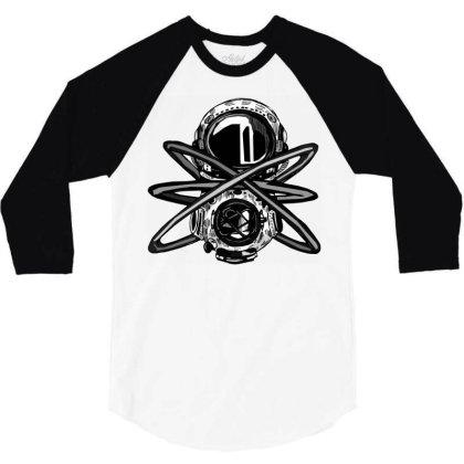 Helmet Comics 3/4 Sleeve Shirt Designed By Mysticalbrain