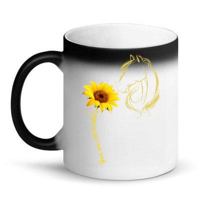 You Are My Sunshine Horse Magic Mug Designed By Badaudesign