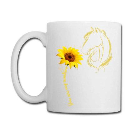 You Are My Sunshine Horse Coffee Mug Designed By Badaudesign