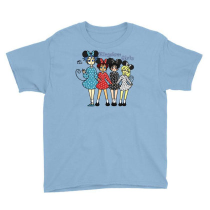 Kingdom Girls Youth Tee Designed By J D.c. Illustrations
