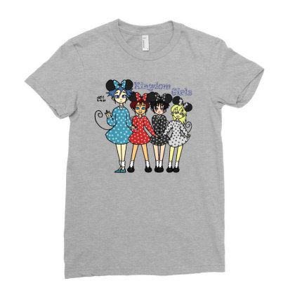 Kingdom Girls Ladies Fitted T-shirt Designed By J D.c. Illustrations