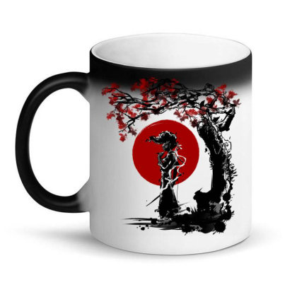 Afro Under The Sun Magic Mug Designed By Ddjvigo