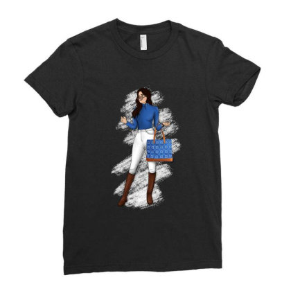 Wear Yourself ! Ladies Fitted T-shirt Designed By Deepakshi Aggarwal