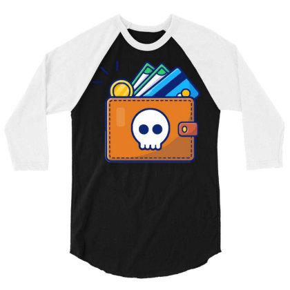 Hacker Activites 2 3/4 Sleeve Shirt Designed By Lenart