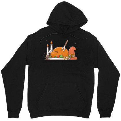 Happy Thanks Giving Day Unisex Hoodie Designed By Lenart