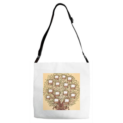 Family Trees Adjustable Strap Totes Designed By Vj4170