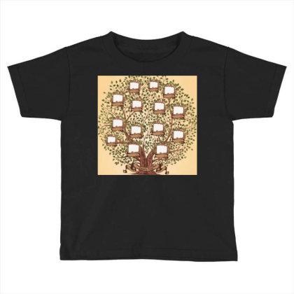 Family Trees Toddler T-shirt Designed By Vj4170