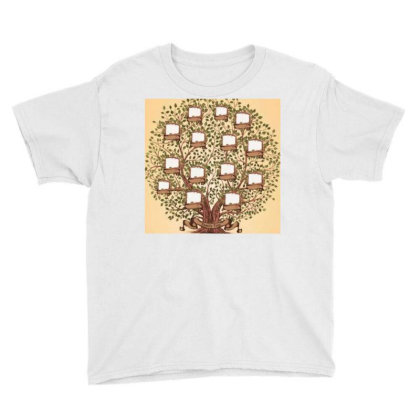 Family Trees Youth Tee Designed By Vj4170