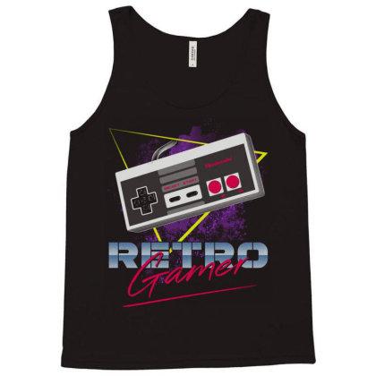 Retro Gamer Tank Top Designed By Ddjvigo