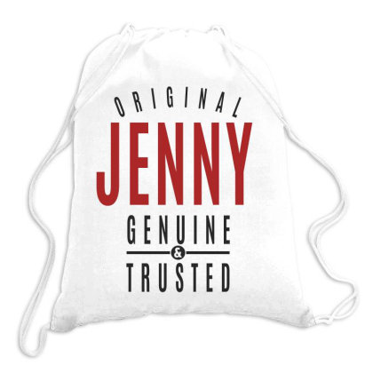 Is Your Name, Jenny? This Shirt Is For You! Drawstring Bags Designed By Chris Ceconello