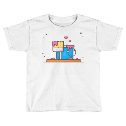 Painting Toddler T-shirt Designed By Lenart