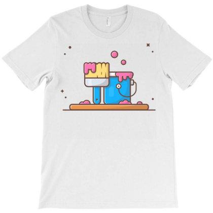 Painting T-shirt Designed By Lenart