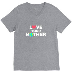 love your mother earth day mother earth V-Neck Tee | Artistshot