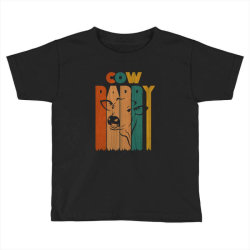 cow daddy retro vintage Toddler T-shirt | Artistshot