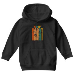 cow daddy retro vintage Youth Hoodie | Artistshot