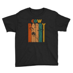 cow daddy retro vintage Youth Tee | Artistshot