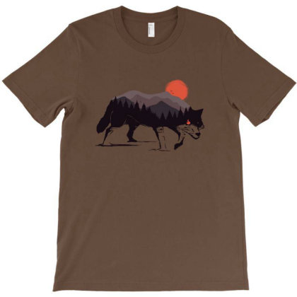 Stay Wild Wolf T-shirt Designed By Sebasebi